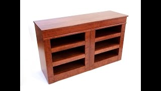 Qline Entertainment Center With Hidden Compartments
