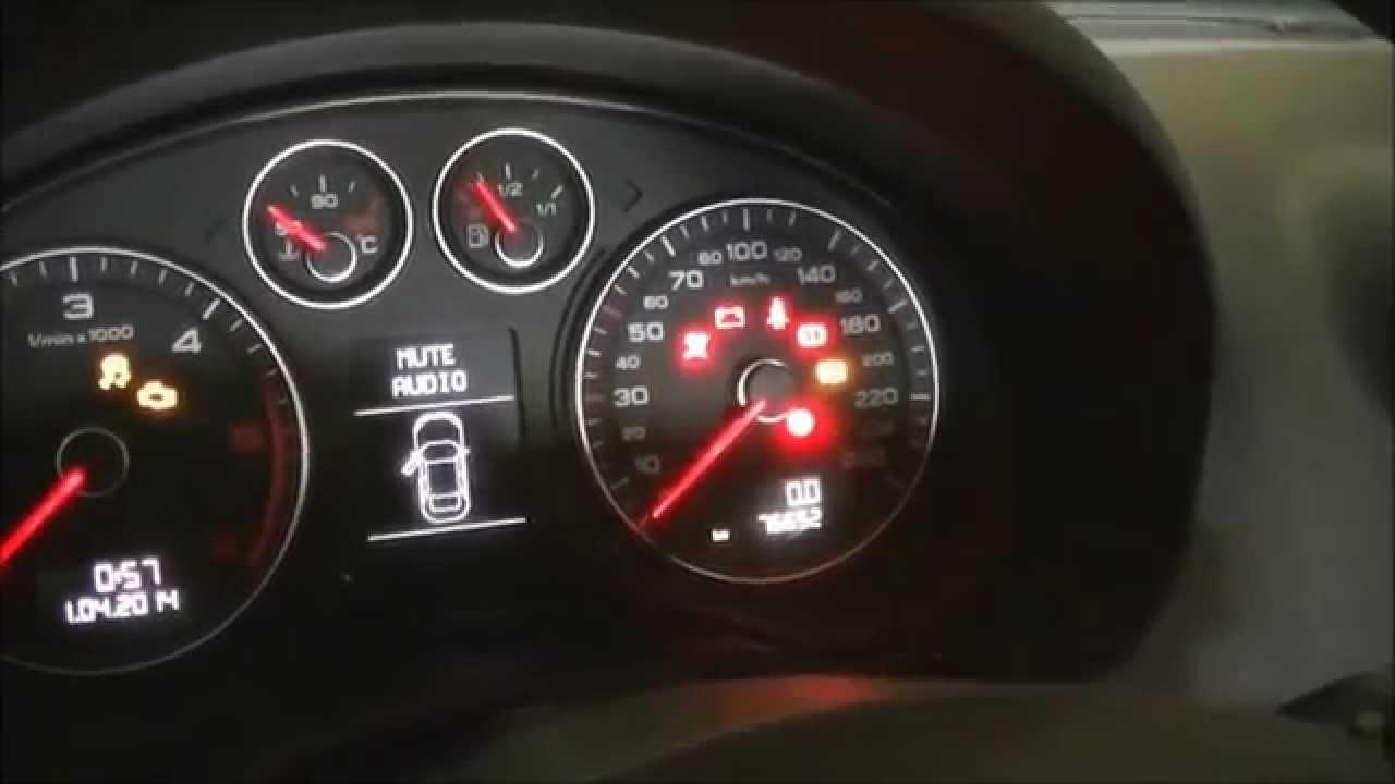 V 237 Deotutorial Hd Puesta A 0 Servicio Cambio Aceite Audi