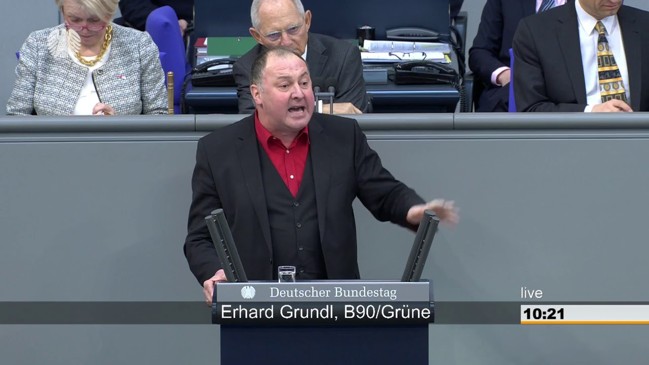 Erhard Grundel (GRÜNE) zu Deutsch als Landessprache