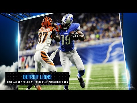 Lions Free Agency Preview - Wide Receivers and Tight Ends
