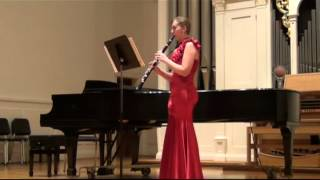 Riepe : Three Studies on Flight for Solo Clarinet (mvt. 3)
