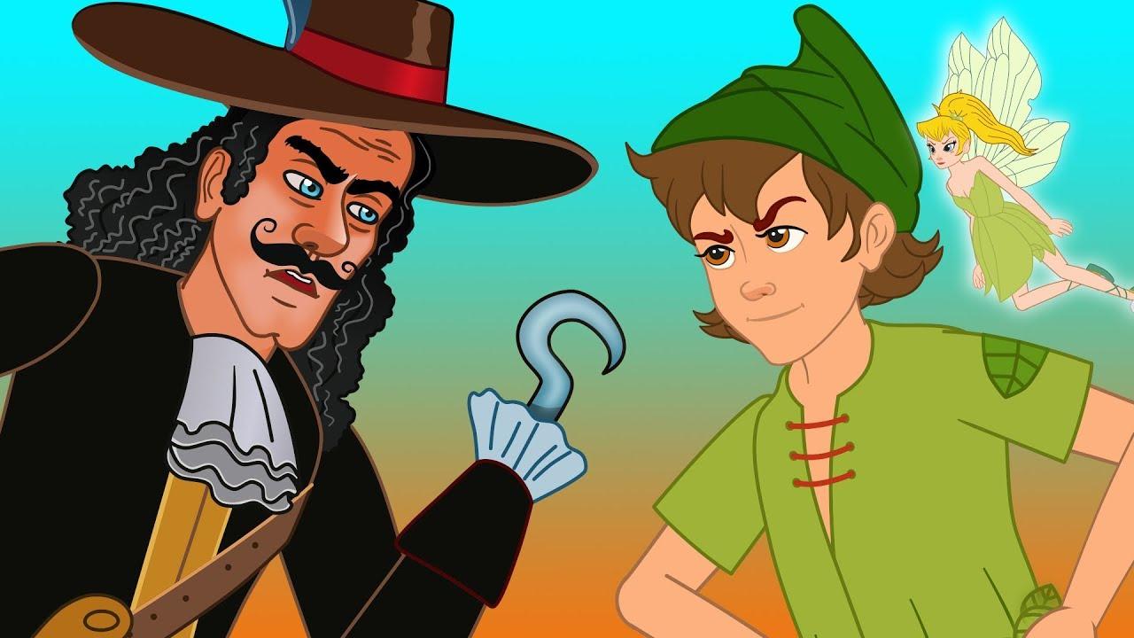 Peter Pan Historia Completa Desenho Animado Infantil Com Os
