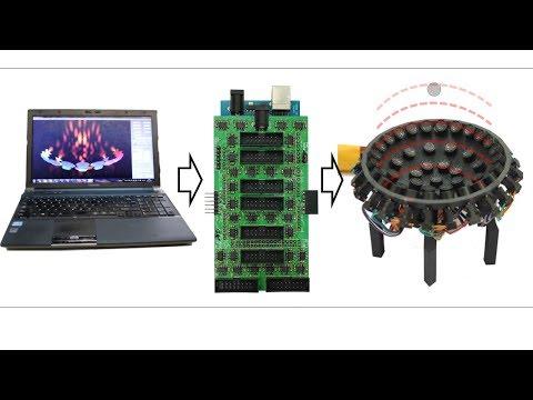 Ultraino: DIY Ultrasonic Airborne Phased-array 64 Channels