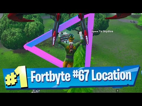 Fortbyte #67! Glitched fortbyte fixed this easy! How to Find it Fast