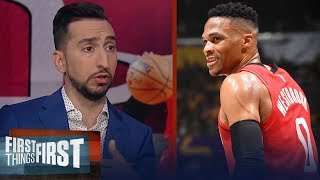 The Rockets are a tough team. They're gonna be a headache — Nick Wright | NBA | FIRST THINGS FIRST