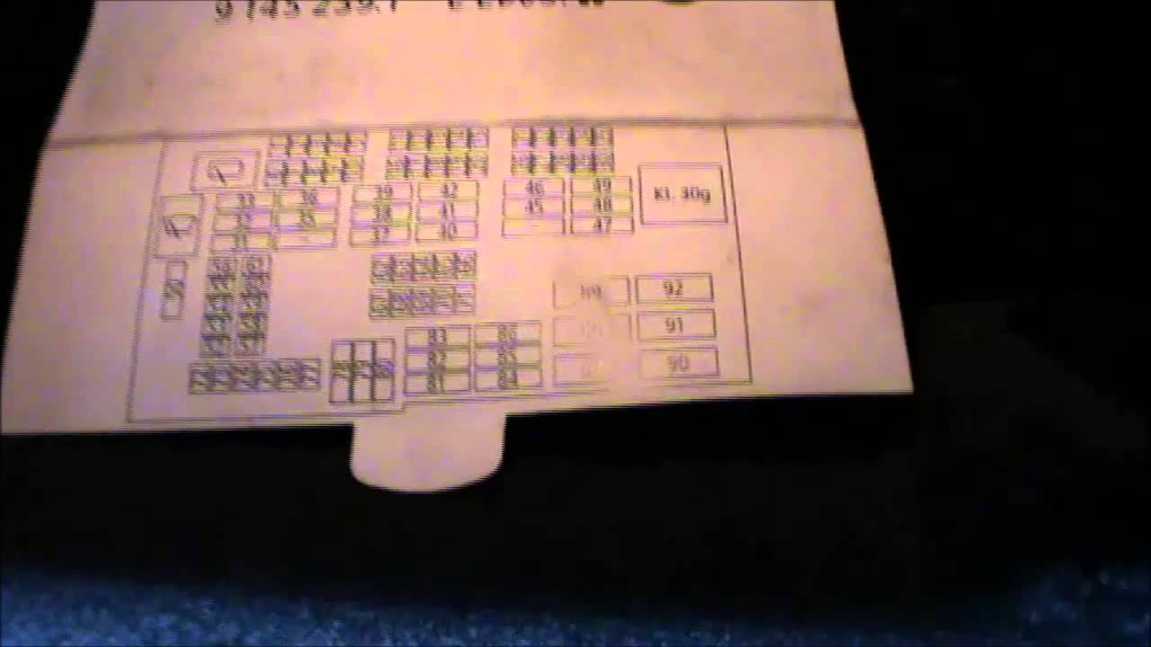 2006 325i Fuse Box Diagram 2004 Jeep Grand Cherokee Starter Wiring E90 Fuses Location And How To Use The Card - Youtube