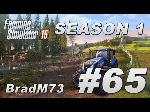 Farming Simulator 15 - Season 1 - Episode 65 - I buy a New Holland T9!!!