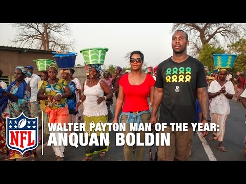 Walter Payton Man of the Year: Anquan Boldin | NFL