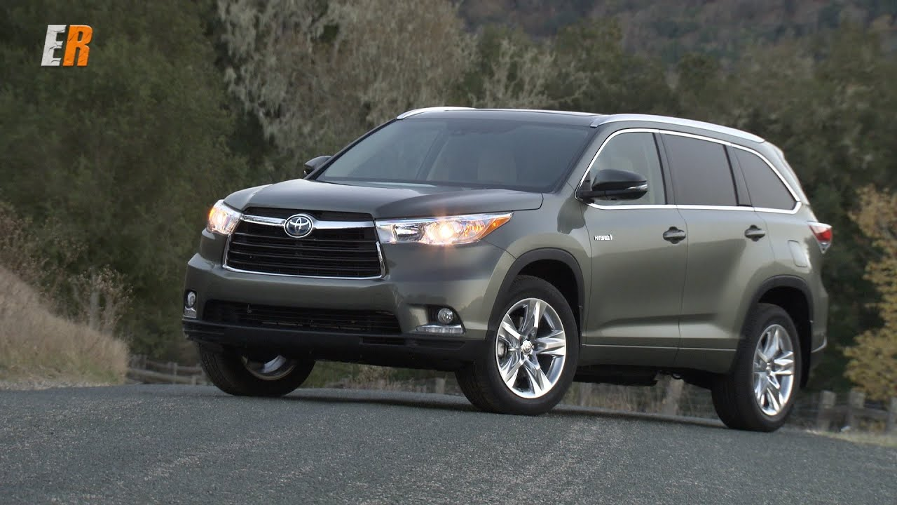 2015 Toyota Highlander Hybrid Limited vs The Minivan Review - YouTube
