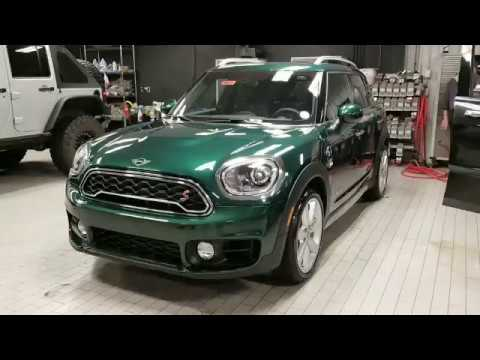2018 British Racing Green Countryman S All4 Manual Youtube