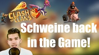 CLASH OF CLANS: Die Schweine sind zurück im CW! ✭ Let's Play Clash of Clans [Deutsch/German HD]