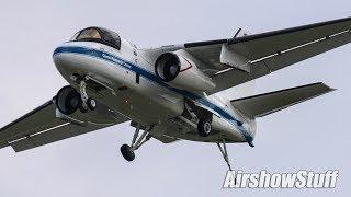 NASA S-3 Viking Flybys - EAA AirVenture Oshkosh 2018