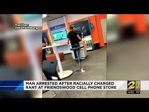 Charles Adams - Man Arrested After Verbal Rant at Local Cell Phone