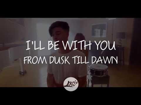 Zayn ft. Sia - Dusk Till Dawn By KHS Cover, Kirsten Collins & Blake Rose(Lyrics/Lyric Video)