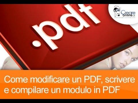 File programma pdf per scrivere su