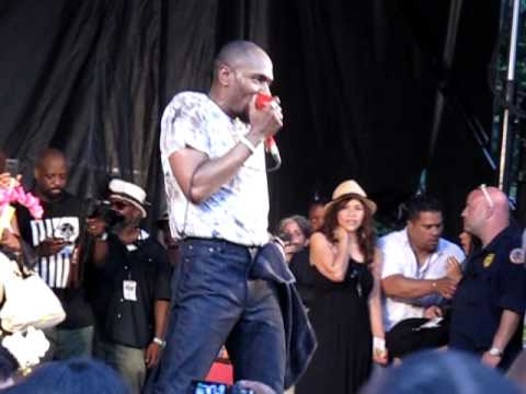 Mos Def - Live at Fort Greene Festival 2011, Brooklyn.  New Music!!