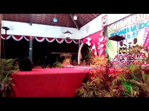 Manuk Dadali lagu daerah Jawa barat - Lomba karaoke by Della