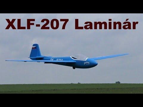 Repeat Letov LF-107 Lunak, scale RC glider, Letovicke vleky