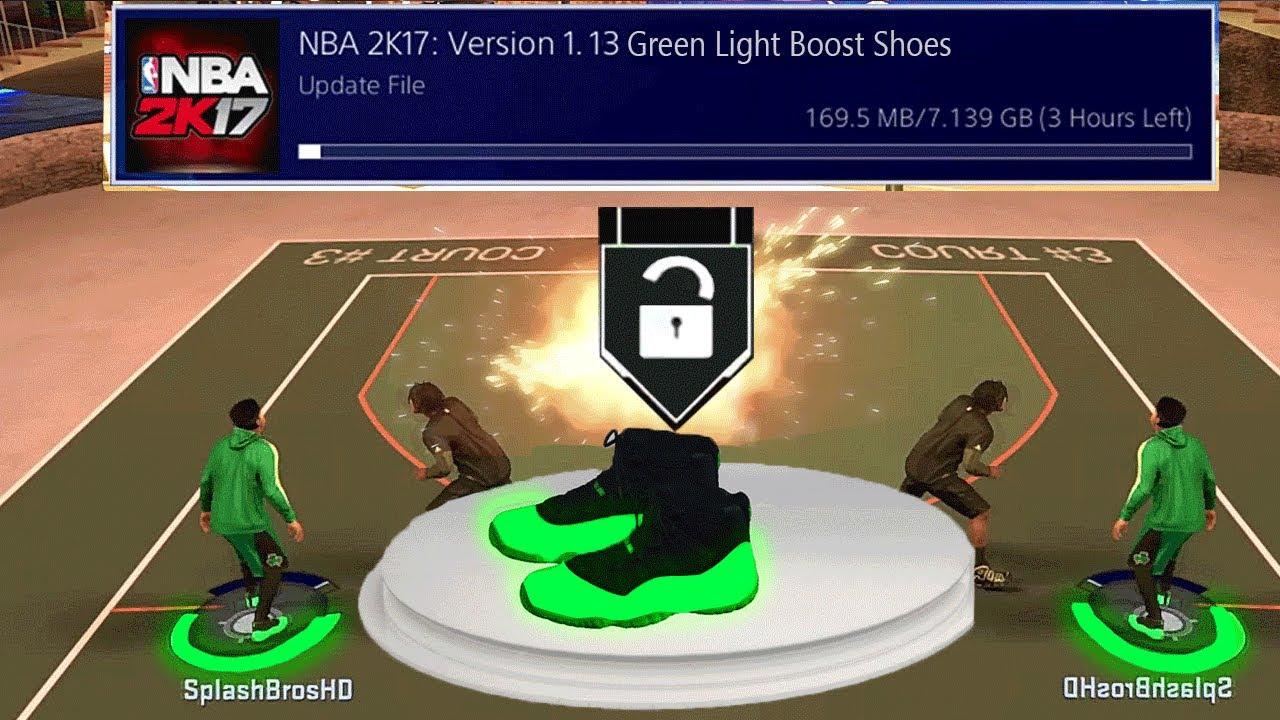 NEW GREENLIGHT SHOES ! NEW JUMPSHOT IN NBA 2K17 MyPARK TUTORIAL NBA2K17  JUMP SHOT