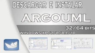 Como Descargar E Instalar ARGOUML Para Windows Xp, 7, 8, 8.1, 10 GRATIS Fácil Y Rápido
