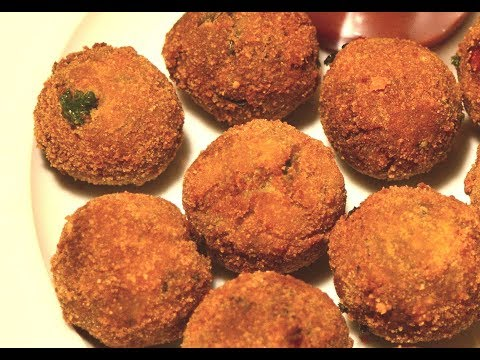 Mixed Vegetable Balls | Vegetarian Fried Balls | spicy crispy and easy vegetable balls | kids snacks