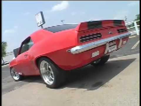 1969 Camaro RS Custom Dual System Flowmaster 40 series by Kinney's