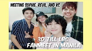 Gambar cover Meeting Sophie, Revil and KC - LBC Fanmeet in Manila - D3 Vlog