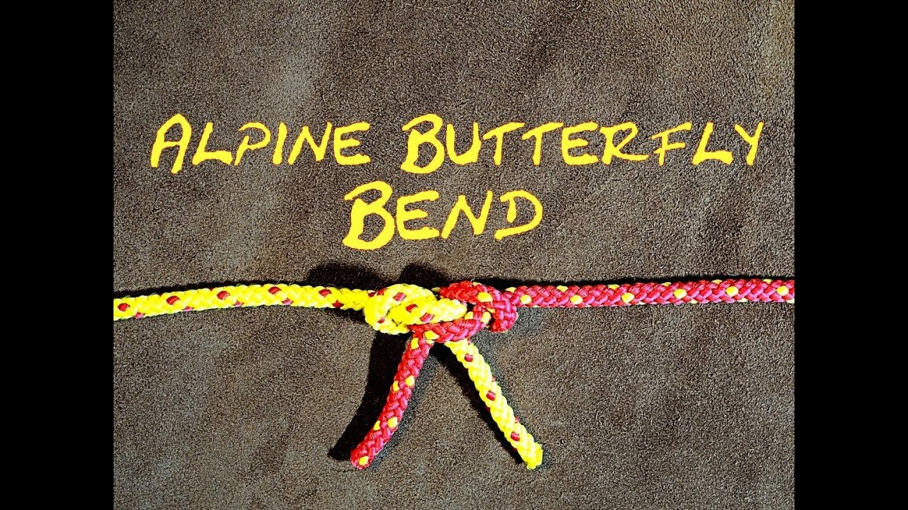 c49e6908c5829 Alpine Butterfly Bend 3 Ways of Tying the Alpine Butterfly Bend a ...