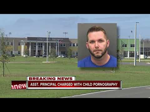 Pasco Assistant Principal arrested, charged with child pornography