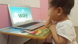 Nhật ký học tiếng Anh Monkey Junior của chị Đại 1 tuổi ngày 20-05-2019