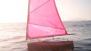 RC sailboat Footy