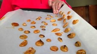 Yiayia's καραμέλες του βήχα .συνταγή του Βασίλη.