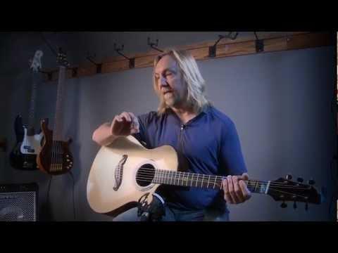 Paul Heumiller Interview. Dream Guitars Owner Plays A Custom Jordan McConnell Guitar