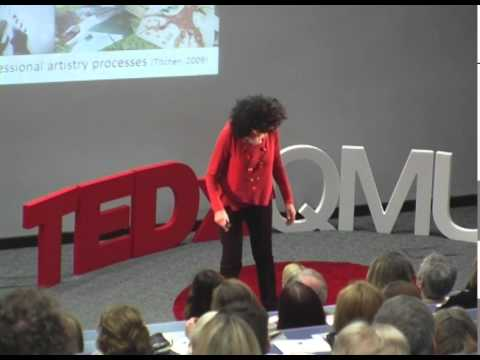Creating the conditions for human flourishing' | Professor Angie Titchen | TEDxQMU