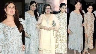 Repeat youtube video Kareena Kapoor Looks Hot At Randhir Kapoor 70th Birthday Bash