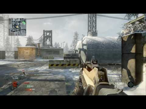 Call Of Duty Black Ops - Team Deathmatch versus Veteran Bots - Grid