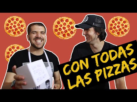 Como hacer una Pizza Peruana// FT. Kevo Vargas