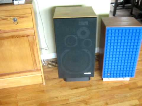 100 Amp Disconnect >> Pioneer HPM-100 (200 Watt Versions) & SA-8500II (As Pre-Amp) with Carver M-200t Amp - YouTube