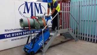 Mechanical movement stair climber 400kg