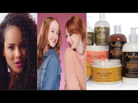 "Black Twitter GOES OFF on ""Shea Moisture"" for white-washing their hair products and tv commercials"