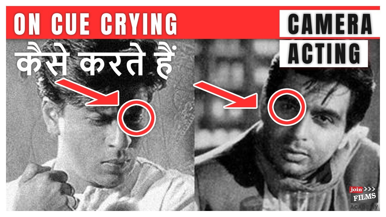 Practical Camera Acting | On Cue Crying | Talent Coach, Virendra Rathore | Joinfilms