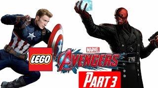 Bucky Nooooooo! - Lego Marvel Avengers PC Playthrough Part 3