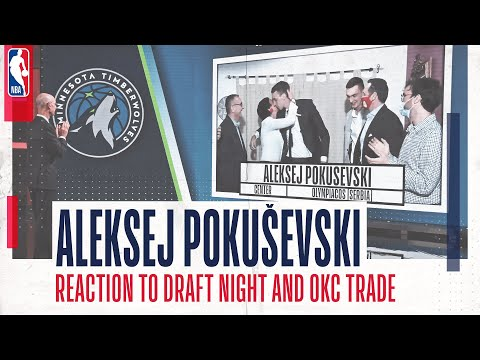 🎤 ALEKSEJ POKUŠEVSKI | Draft night emotions and reaction to Oklahoma City Trade