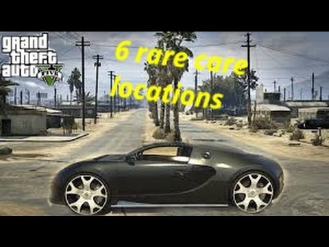 6 Rare Car Locations In Gta 5 Story Mode - YouTube