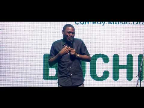 Catch Buchi at the Glo Laffta Fest 2015, Benin edition (Aug. 30th)