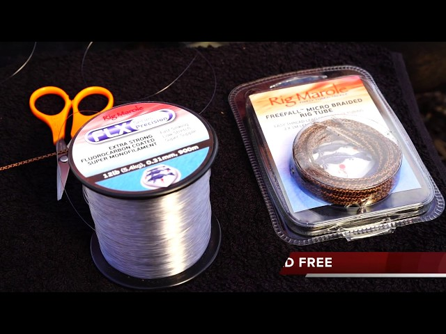 Rig Marole - Freefall Micro Braided Rig Tube - Carp fishing