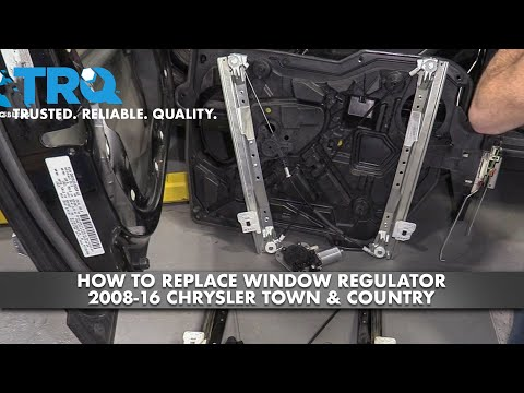 How to Replace Window Regulator 08-16 Chrysler Town & Country
