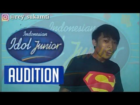 SUKSES NYANYIIN LAGU ASEP BALON-MENING JOMBLO DI INDONESIAN IDOL| DAPET YESS (PARODY AUDISI)