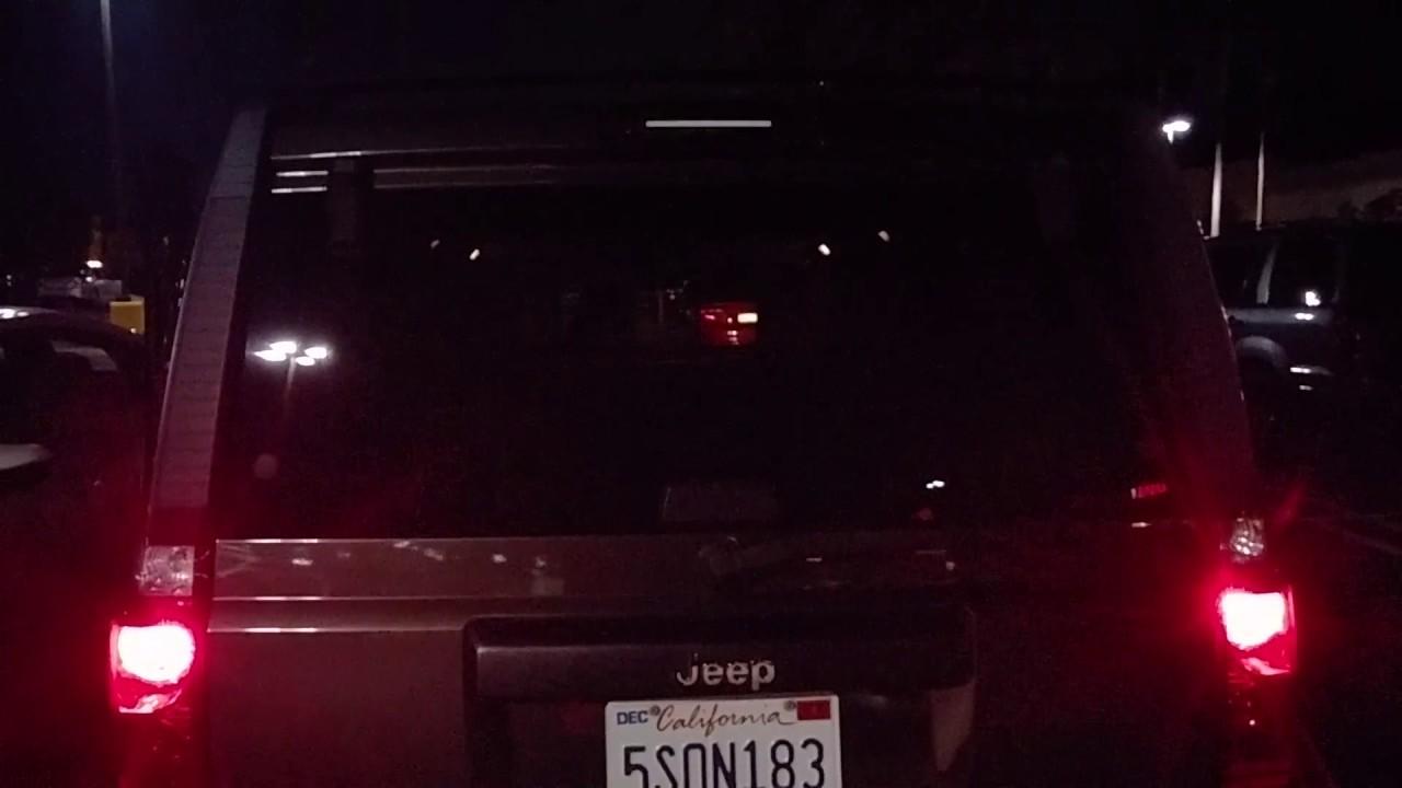 Jeep Commander 3rd Brake Light Modification