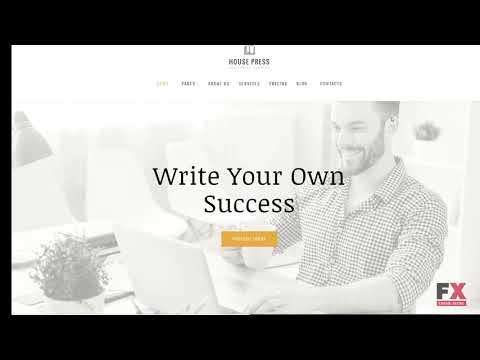 House Press - Publishing Company WordPress Theme TMT   Free Template
